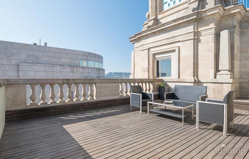 Penthouses de luxe barcelone et madrid for Terrace 6 indore images